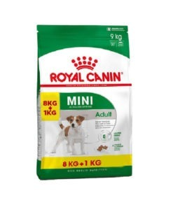 Royal Canin Adult Mini 8Kg + 1Kg