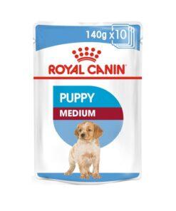 Royal Canin - Medium Puppy Wet Food (140G)