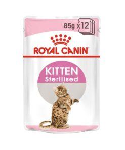 Royal Canin - Kitten Sterilised in Gravy (85g)