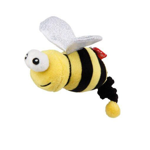 Vibrating Running Bee with Catnip inside – Yellow