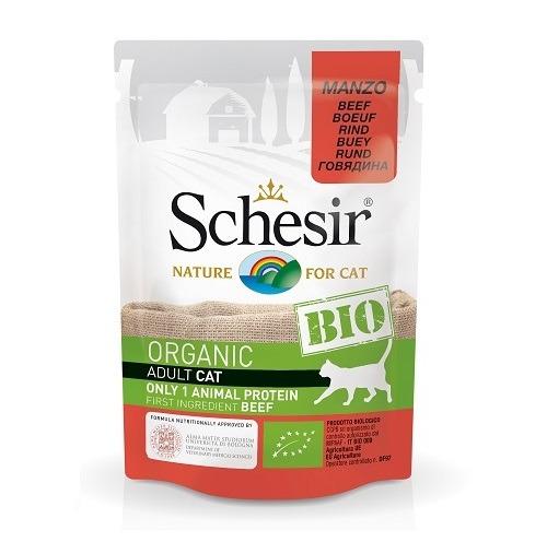 schesir bio beef - Schesir - Cat Pouch Bio Beef 85gm