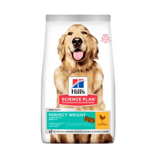 sp canine science plan adult perfect weight large breed with chicken dry - Hill's Science Plan - Perfect Weight Large Breed Adult Dog Food With Chicken