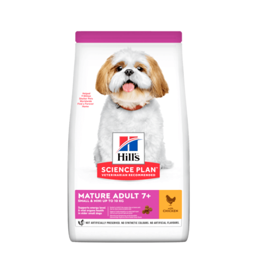 sp canine science plan mature adult 7 plus small and miniature dry product - Hill's Science Plan - Small & Mini Mature Adult 7+ Dog Food With Chicken