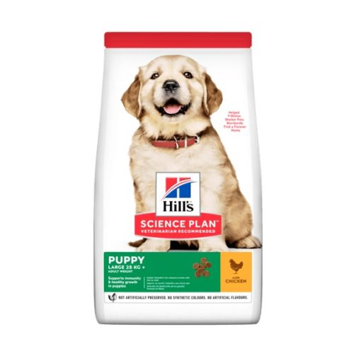 sp canine science plan puppy healthy development large breed chicken dry product - Hill's Science Plan - Large Breed Puppy Food With Chicken