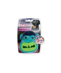 treat hider green monster small