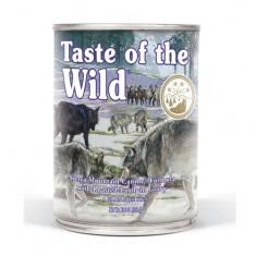 wet sierra mountain 204 - Taste of The Wild - Sierra Mountain Canine Recipe with Roasted Lamb (390G)