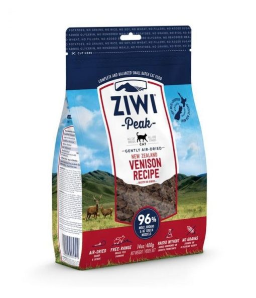 ziwipeak cat venison 1kg - ZiwiPeak - Air Dried Venison Recipe Cat Food