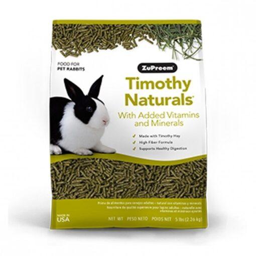 zu95050 - ZuPreem - Timothy Naturals Rabbit Pellets 5lb